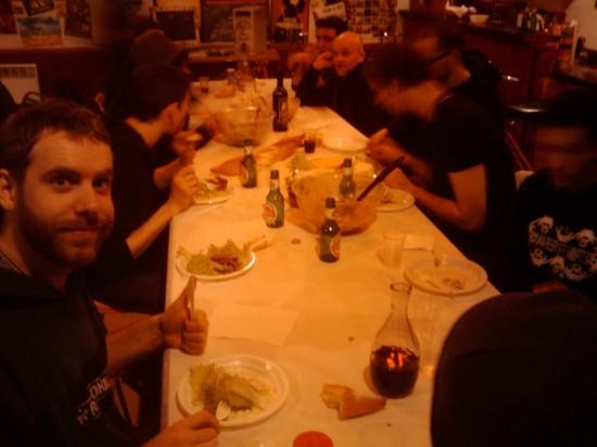dinner in Fumel