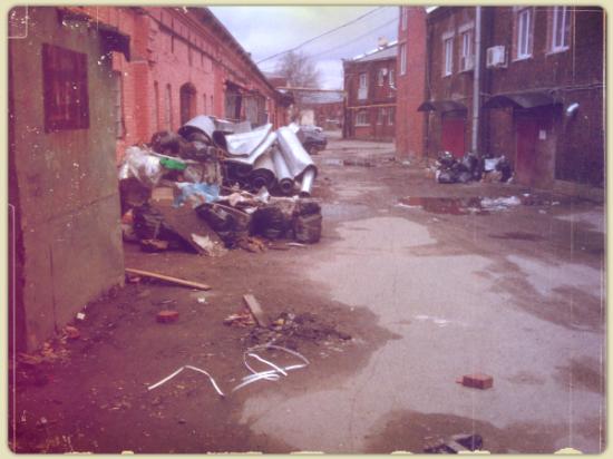 Trashy Russian ghetto, St Petersburg
