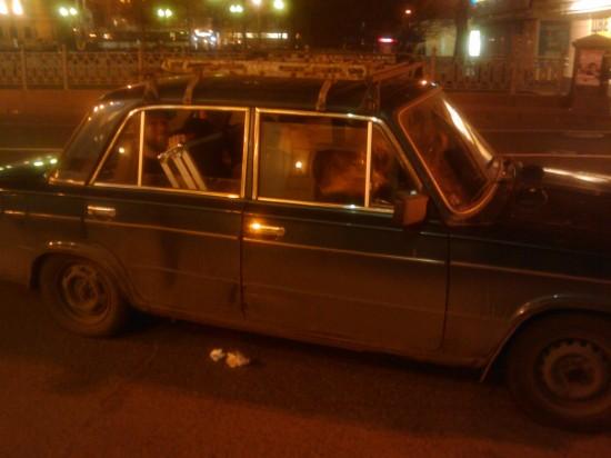 lada cab!