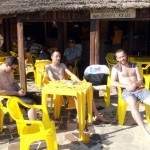 Pale Dutchies enjoying the sun at Tramandai Beach